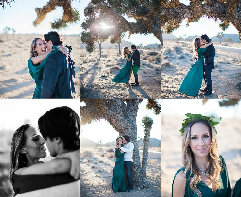 Joshua Tree Couples Session - Alisa & Robert - Lindsey Parkin Photography
