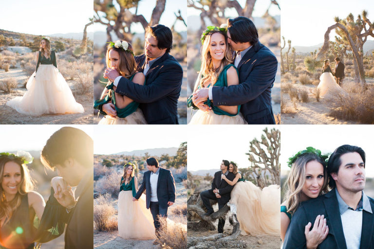 Joshua Tree Anniversary Couples Session - Alisa & Robert - Lindsey Parkin Photography